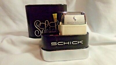 Vintage Schick 25th Anniversary Electric Shaver
