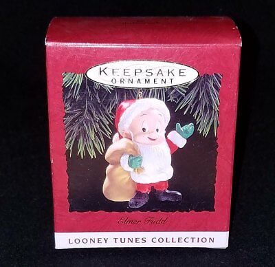 NEW Hallmark LOONEY TUNES 1993 ELMER FUDD as Santa NEW in Box NIB