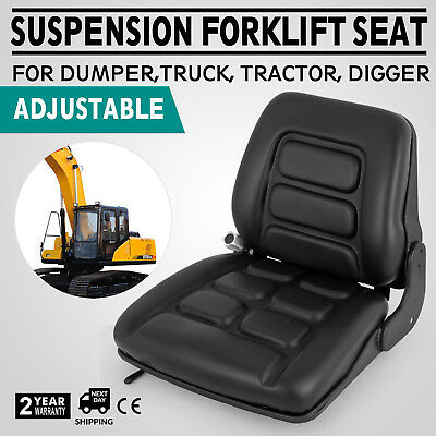 Forklift Dumper Suspension Seat Tractor chair weatherproof Plant