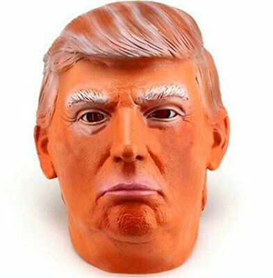 Donald Trump Costume Mask Halloween Masquerade Presidential Republican Mask AU