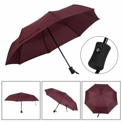 Pocket Flip Compact Travel Umbrella Windproof Inverted Automatic Open Close MY