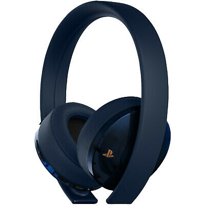 SONY PS4 Wireless Headset Navy Blue - 500 Million Limited Edition, Gaming Headse