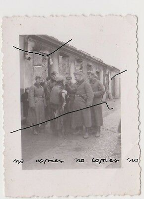 Old Poland Small Original Photo WWII In Poland Ghetto אינ פוילישע געטא