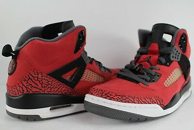 new style 2bc2f 16e09 Nike Air Jordan Spizike Toro Bravo Gym Red Black Dark Grey White Size 13