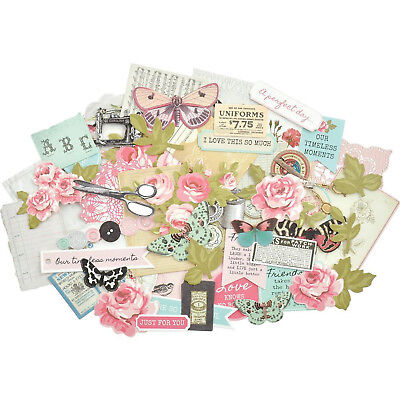 Miss Betty Collectables Die Cut Shapes Kaisercraft 50+ Piece Pack