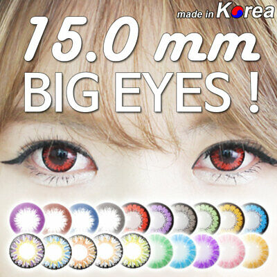 Big Eyes Colored Contacts Lenses Cosplay Party Makeup Circle Lens 100 Kinds