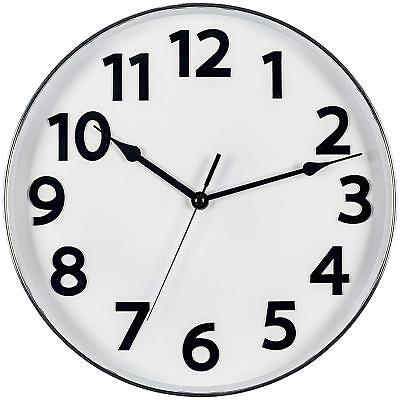 """Bernhard Products Colorful Kids Wall Clock 10"""" Silent Non Ticking Quality Quartz"""