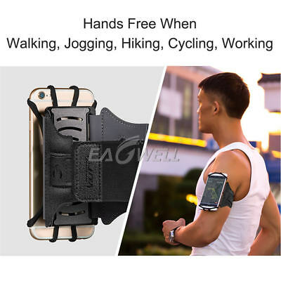 Gym Running Jogging Sports Armband Case Holder Strap For iPhone 8 7 X XR XS Max