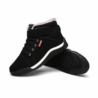 Outdoor Ankle Snow Boots Work Warm Padded Lined Shoes for Men Winter Casual New