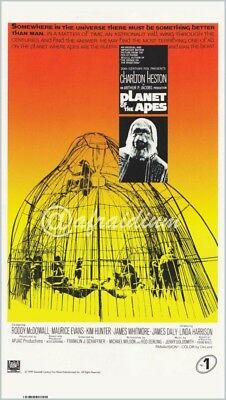 Planet of the Apes movie poster 52x91cm durable heavy duty vinyl. As new.