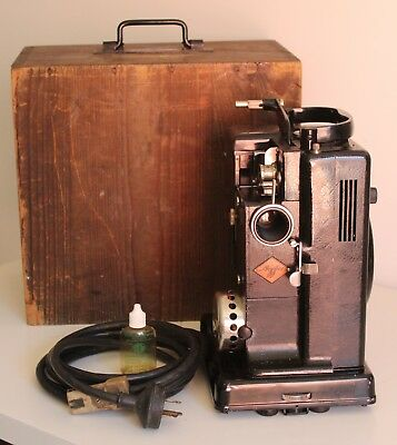 RARE! AGFA Movector 16A Vintage Silent Movie Projector16mm Film. Still Works!