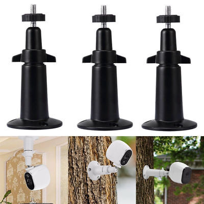 3 Pack Security Wall Mount Holder for Arlo or Pro Camera Adjustable Cam Support