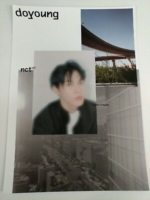 NCT127- Regular-Irregular (Doyoung Ver.) 2-Sided Official Unfolded Poster New