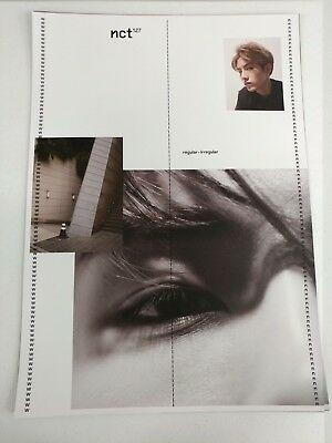 NCT127- Regular-Irregular (Winwin Ver.) 2-Sided Official Unfolded Poster New