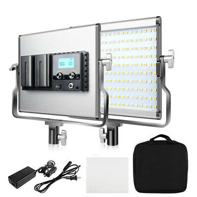 Travor Bi-Color LED Video Light 3200-5600K CRI96 for Shooting Studio Photography