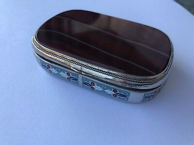 Russian Lovely Silver Cigaret Case  88
