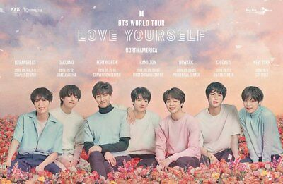[Poster Only] KPOP BTS - LOVE YOURSELF 結 ANSWER / 4th Album - Folded Poster Only