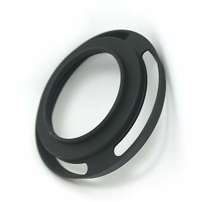 52mm Slim Matel Vented Lens Thin Wide Angle Hood Screw In Leical M