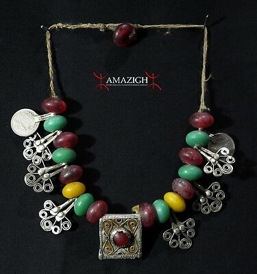 Old Berber Necklace - Draa Valley, Morocco