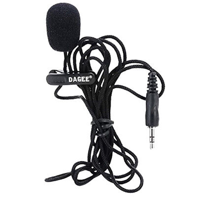 DAGEE IMTC Lavalier 2M 3.5mm Microphone Headset For Micor DAGEE DG-001 MIC  C6Y5