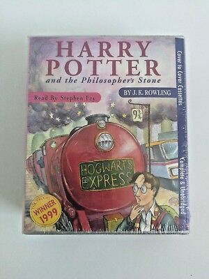 Harry Potter and the Philosopher's Stone 6 Audio Cassettes Read by Stephen Fry