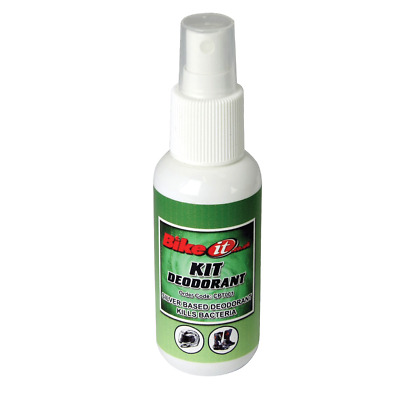Bike-It Motorcycle Bike Scooter Rider Helmet Boots Kit Deodorant Spray CPT001