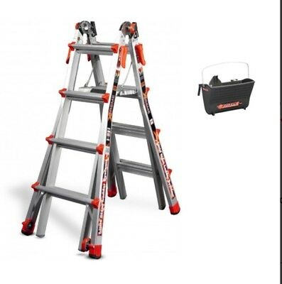 Little Giant Ladder Systems Extreme M22 w/Ratcheting Levelers & free fuel tank
