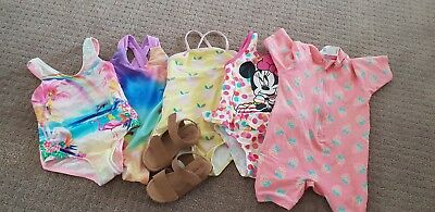 Girls swimmers & sandals size 2 - Country Road, Seed, Seafolly
