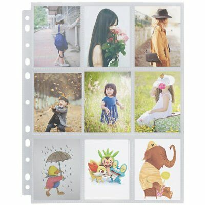 Trading Game Card Storage Wallets Sleeves Album Pages Collection 450 Pockets