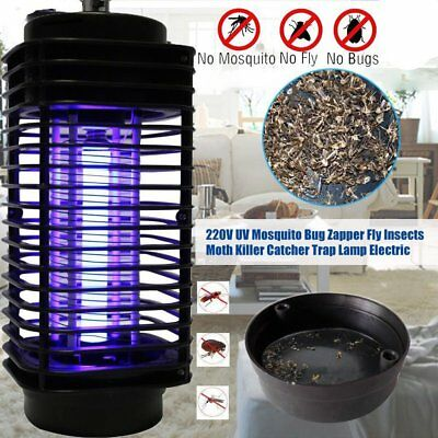 Electric Mosquito Killer Fly Bug Insect Zapper Killer Pest Control UV Lamp