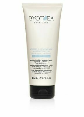 Byothea Crema Illuminante Massaggio Viso, Bellezza e Cosmetica - 200 ml