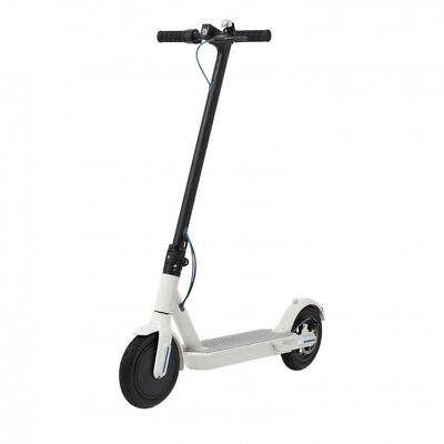 Trottinette Electrique Scooter Motor 25km/h 20Km 250W 7.8Ah S9 White Tubeless