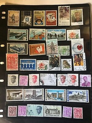 stamps  Belgium - MNH and Used - Lot 93