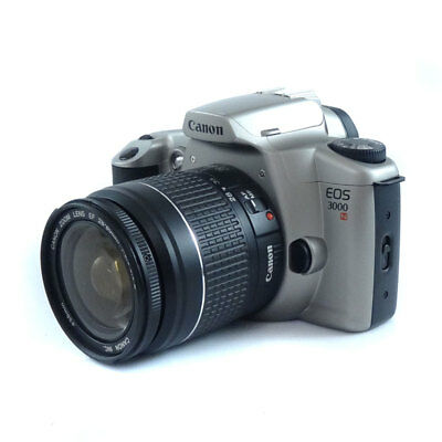 Canon EOS 3000N  35mm SLR Film Camera + 28-80mm EF Lens *GOOD CONDITION*