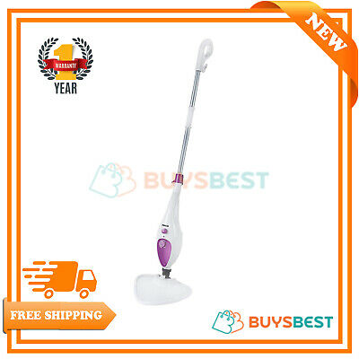 Pifco 12-in-1 Multi-Function Steam Mop 1500W In White - PS012N