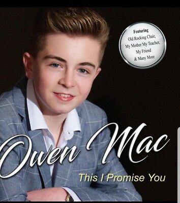Owen Mac - This I Promise You CD (2018) - Brand New & Sealed