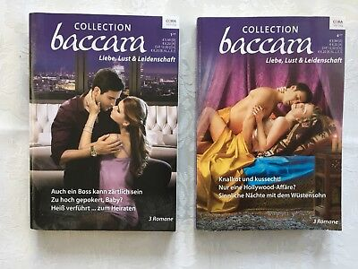 2 Baccara Sammelbände (je 3 Romane) COLLECTION