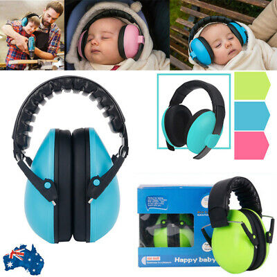 NEW Baby Camo Earmuffs Soft Cup Baby Ear Muffs Kids Noise Reduction Defenders AU
