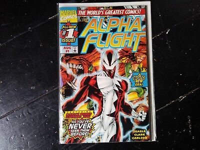 Marvel comics Alpha flight vol 2 #1 aug 1997