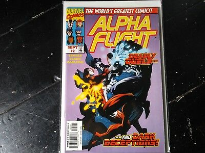 Marvel comics Alpha flight vol 2 #2 sept 1997