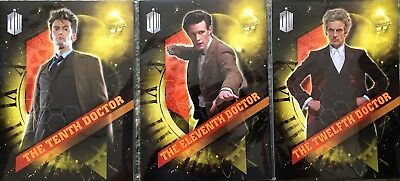 DOCTOR WHO JUMBO CARDS 2016 SDCC EXCLUSIVE 3 x SETS OF 10 CARDS