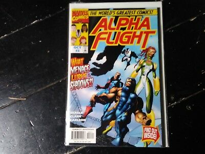 Marvel comics Alpha flight vol 2 #3