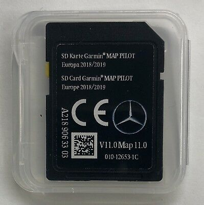 MERCEDES GARMIN MAP PILOT V11 MAP V11 EUROPE 2018-2019 NAVI SD Card A2189063303