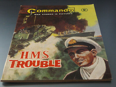 Commando War Comic Number 438 !!,1969 Issue,excellent For Age,49 Years Old,rare.