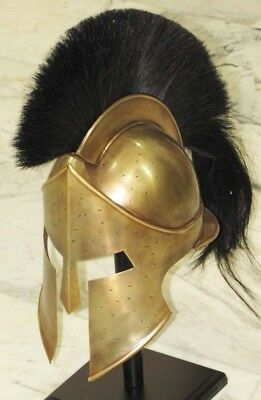 Antique Medieval 300 Movie Spartan Leonidas Helmet Greek Worrier Halloween Gift