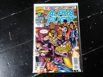 Marvel comics Alpha flight vol 2 #4