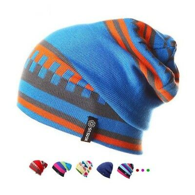 94fad2e4b6715 BEANIE HAT FOR Men and Women Skull Cap Fall Winter Warm Fashion Knit ...