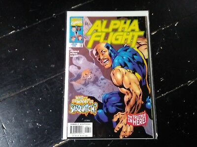 Marvel comics Alpha flight vol 2 #6