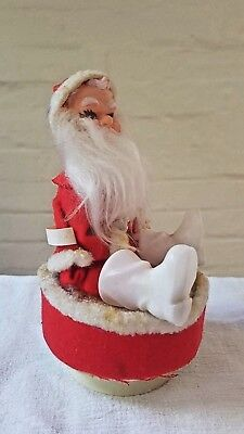 Vintage Santa Christmas Decoration circa 1950's