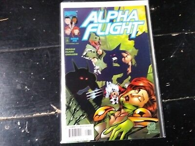 Marvel comics Alpha flight vol 2 #8